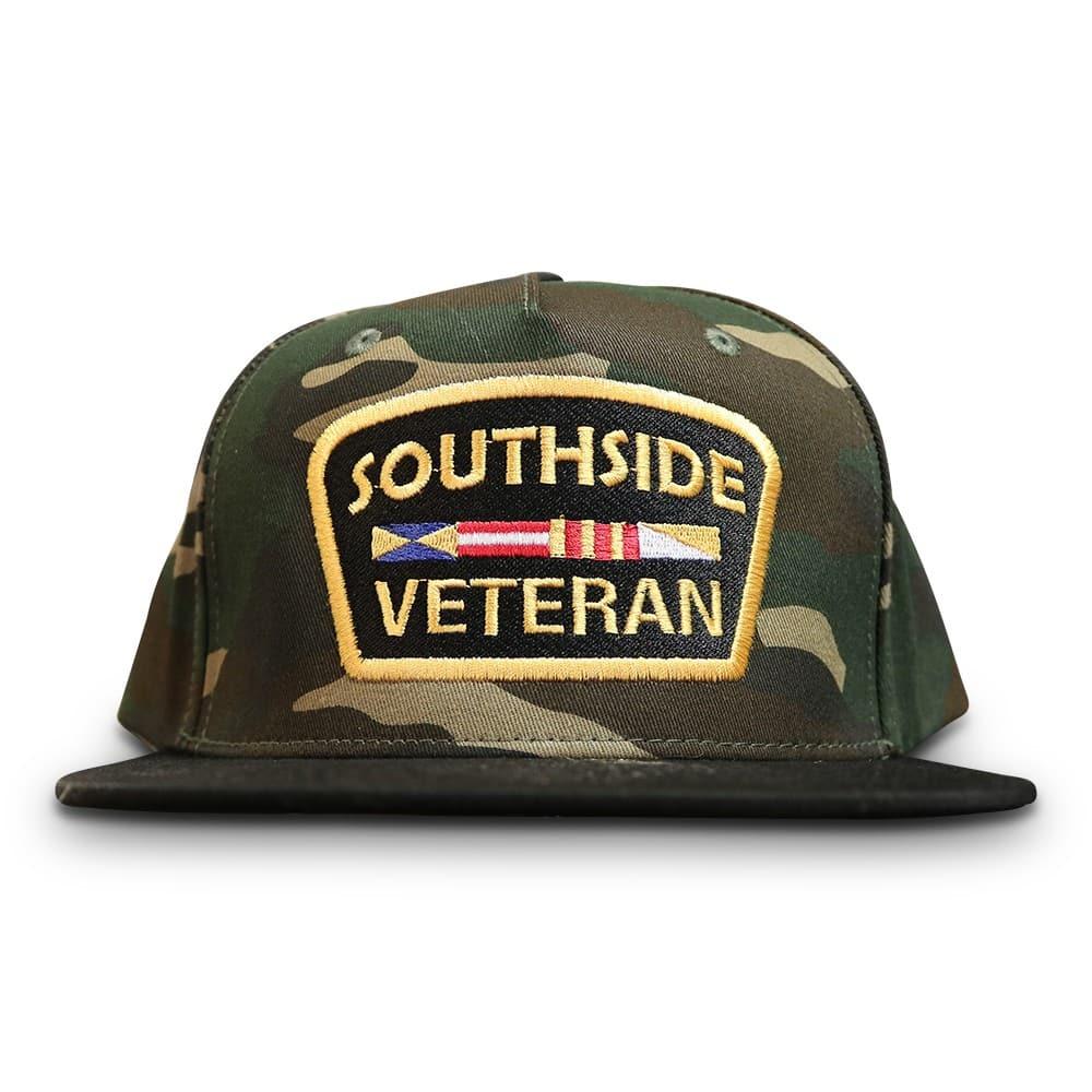 Veteran Snapback Southside Camo  49e2c6a63ed